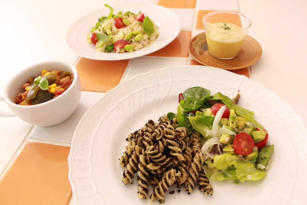 アドバンスクラスの料理写真