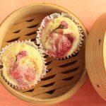 マダム・カーコのマクロビクッキング イチゴの蒸しケーキ