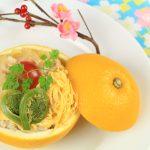 マダム・カーコのマクロビクッキング  みかんちらし寿司、鯛のみかんジュース漬け
