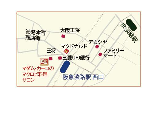 サロン地図